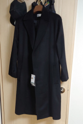 돈애스크마이플랜(DAMP) HIDDEN MESSAGE CASHMERE OVERSIZED COAT 2.0 후기