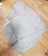 커버낫(COVERNAT) SMALL AUTHENTIC LOGO CREWNECK GRAY 후기
