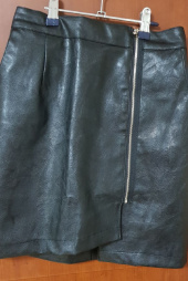 바이바이섭(BIBYSEOB) ZIPPER LEATHER SKIRT BLACK 후기