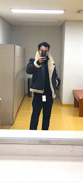 스페로네(SPERONE) real B3 mustang jacket black 후기