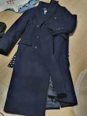 살롱 드 욘(SALON DE YOHN) Double Wool Coat_Navy 후기