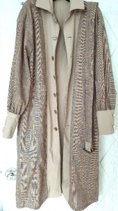 레이브(RAIVE) Puff Sleeve Trench Coat (Beige+Check)_VW8AR0120 후기