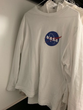 시에로(SIERO) NASA Long Sleeve (SF2TSU401BK) 후기