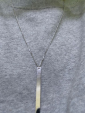 셉텐벌5(SEPTEMBER5) Bar stick necklace 후기