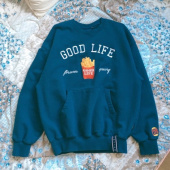 로맨틱크라운(ROMANTIC CROWN) 10th Good Life Sweat Shirt_Oatmeal 후기