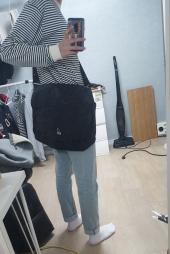 캉골(KANGOL) Oliver Messenger Bag 2014 BLACK 후기