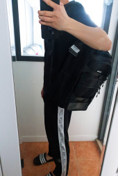 몬스터리퍼블릭(MONSTER REPUBLIC) EXCEEDING 3D BACKPACK / BLACK 후기