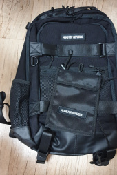 몬스터리퍼블릭(MONSTER REPUBLIC) MOVEMENT CORDURA BACKPACK / BLACK 후기