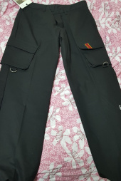 로맨틱크라운(ROMANTIC CROWN) Big Pocket Cotton Pants_Black 후기