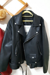 레이디 볼륨(LADY VOLUME) [남여공용]19 overfit belt riders  jacket 후기
