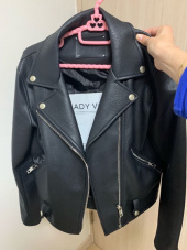 레이디 볼륨(LADY VOLUME) 19 zipper belt riders  jacket 1 후기