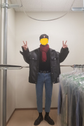 레이디 볼륨(LADY VOLUME) [남여공용]super overfit trucker riders jacket 후기