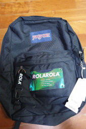 로라로라(ROLAROLA) (BG-19101) ROLAROLA X JANSPORT BACKPACK BLACK 후기