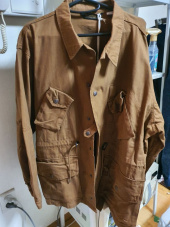 유니폼브릿지(UNIFORM BRIDGE) 19ss canadian combat coat d orange 후기