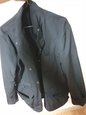 유니폼브릿지(UNIFORM BRIDGE) 19ss easy blazer jacket black 후기