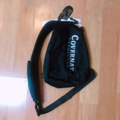 커버낫(COVERNAT) CORDURA AUTHENTIC LOGO SLING BAG BLACK 후기