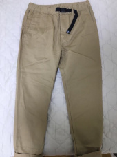 커버낫(COVERNAT) COTTON TWILL SLIM EASY PANTS BEIGE 후기