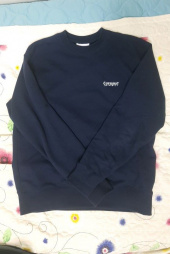 커버낫(COVERNAT) SMALL AUTHENTIC LOGO CREWNECK CORAL GREEN 후기