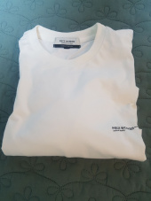 피스워커(PIECE WORKER) Oversize Logo Tee - Off White 후기