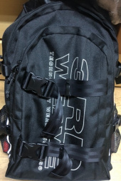 써드위브(THIRDWEAVE) ULTIMATE BACKPACK / BLACK-SCOTCH 후기