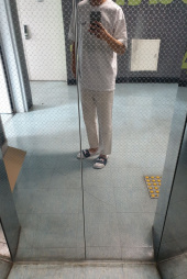 피스워커(PIECE WORKER) Off White / Ordinary Crop 후기