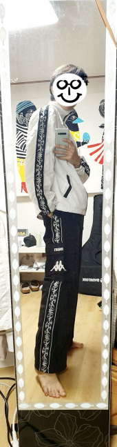 참스(CHARM'S) CxK Flame Line Pocket Pants 후기
