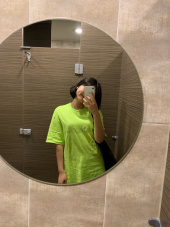 마하그리드(MAHAGRID) OUTLINE LOGO TEE LIME(MG1JMMT508A) 후기