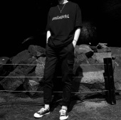 마하그리드(MAHAGRID) OUTLINE LOGO TEE BLACK(MG1JMMT508A) 후기
