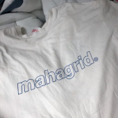 마하그리드(MAHAGRID) OUTLINE LOGO TEE WHITE_BLACK(MG1JMMT508A) 후기