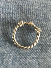 쇼브오프(SHOVEOFF) SVR-#S612 Binding Rope Ring 후기