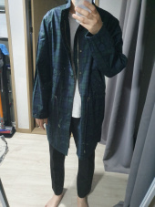 프리즘웍스(FRIZMWORKS) HARRIS FISHTAIL JACKET _ BLACK WATCH 후기