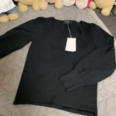 레이브(RAIVE) Square Neck Knit in Black_VK9SP0170 후기