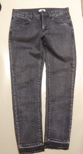 메종미네드(MAISON MINED) GREY CUTTING DENIM TROUSERS 후기