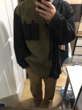 비디알(VDR) TEFLON LIGHT WINDBREAK [Black/Khaki] 후기