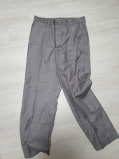 아조바이아조 핑크 라벨(AJOBYAJO FINK LABEL) Tailored Relaxed Pants [Grey] 후기