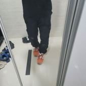 프리즘웍스(FRIZMWORKS) CARGO STRING PANTS _ BLACK 후기