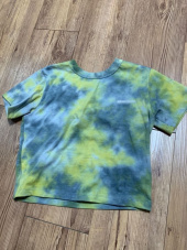 매치글로브(MATCHGLOBE) MG9S TIE DYE CROP TEE (YELLOW) 후기