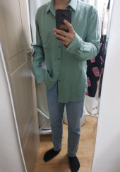 더 티셔츠 뮤지엄(THE T-SHIRT MUSEUM) 19ss premium linen shirt [mint] 후기