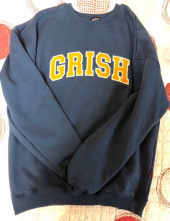 그리쉬(GRISH) SIGNATURE CREWNECK-(INDIGO) 후기