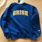 그리쉬(GRISH) SIGNATURE CREWNECK-(ORANGE) 후기