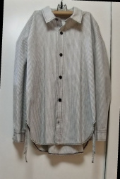 메종미네드(MAISON MINED) STRIPE STRING SHIRTS 후기