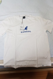 캉골(KANGOL) Symbol T-Shirts 2567 WHITE/RED 후기