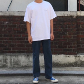 커버낫(COVERNAT) S/S SMALL AUTHENTIC LOGO TEE WHTIE 후기