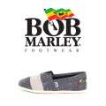 밥말리 풋웨어(BOBMARLEY FOOTWEAR) RITA STRIPE CHAMBRAY BLACK