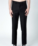 슬레이() PIPING POCKET SLACKS BLACK