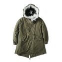 "YMCL KY US Type M-65 Field Parka One Wash ""Olive"""