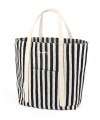 Market Bag - Stripe Navy