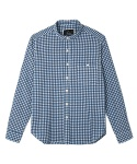 어레인지(ARRANGE) blue gingham shirts