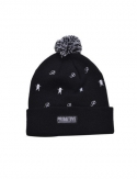 프리미티브(PRIMITIVE) Icon Porm Beanie Black