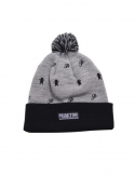 프리미티브(PRIMITIVE) Icon Porm Beanie Gray